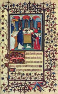 page from a French Book of Hours, ca.1400